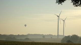 Luftperspektive - Luftperspektive, Dunst, Nebel, Energie, Windkraft, Elektrizität, Physik, Strom