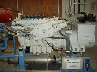 Biogasanlage #13 - Blockheizkraftwerk, Strom, Wärme, Energie, Kraft-Wärme-Kopplung