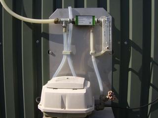 Biogasanlage #15 - Biogasanlage, entschwefeln, Entschwefelung, reinigen, Labor, Proben