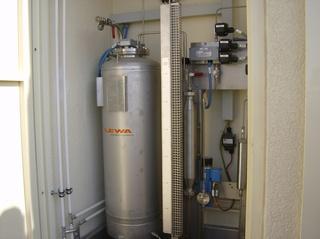 Biogasanlage #21 - Biogasanlage, anreichern, Geruchstoff, Kessel, Leitungen, Ventile, Zähler, riechen, Geruch