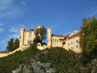 Schloss Hohenschwangau - Schloss, Hohenschwangau, Allgäu, Bayern, König, Deutschland, Bauwerk, Architektur, Neugotik, Ludwig II