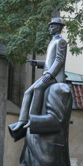 Franz Kafka #2 - Prag, Kafka, Statue
