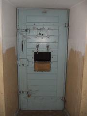 Gefängnistür #2 - Berlin, Hohenschönhausen, Gefängnis, Zelle, Stasi, DDR, Politik, Gefangene, Tür, Zellentür, Geschichte