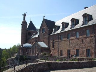 Mont St. Odile - Elsass, Frankreich, Odilienberg, Schutzpatron, Heilige, Odilie, Kloster