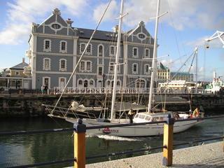 Hafen von Kapstadt - Südafrika, Kapstadt, Hafen, Segelyacht, Fluss, Yacht, Afrika