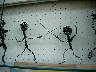 Drahtfiguren 2 - Figuren, Figur, Draht, Drahtfiguren, Plastik