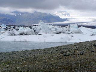 Island Gletscherlagune - Island, Eisberg, Eisberge, Gletscher, Gletscherlagune, exogene Kräfte