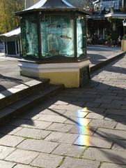 Spektrum #1 - Regenbogen, Spektrum, Spektralfarben, Wellenlänge, Licht, Brechung, Prisma, Farbzerlegung, Aquarium