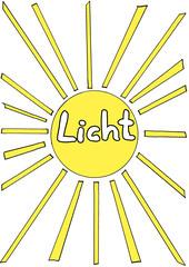 Sonne - Sonne, Keimungsbedingungen, Licht, Strahlen, hell, leuchten