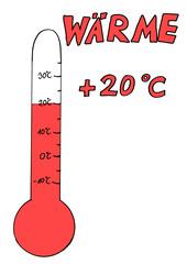Wärme - Wärme, Thermometer, Celsius, Keimungsbedingungen