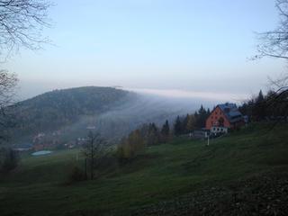 Nebel Herbst #1 - Wolken, Herbst, Nebel, Meteorologie, Wetter, Wettererscheinung, Wassertröpfchen, Kondensation, Taupunkt, Wasserdampf