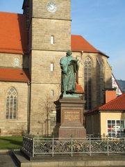 Martin Luther - Martin Luther, Denkmal, Erfurt, Reformator, Reformation, Kirche, Religion