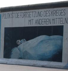 Inschrift auf dem Restteil der Berliner Mauer - Mauer, Berlin, Graffiti, Bild