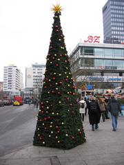 Weihnachtsbaum Berlin - Weihnachten, Weihnachtsbaum, Pyramide, Volumen, Oberfläche, Körper