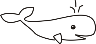 Wal - Wal, Wasser, Meer, Säugetier, Anlaut W