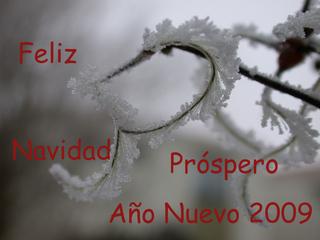 Glückwunschbild zum Jahreswechsel_spanisch - Navidad, año nuevo, feliz, próspero