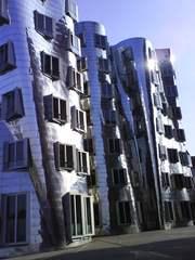 Medienhafen Düsseldorf - Architektur, Medienhafen, Düsseldorf, Industrie, Logistik, Gewerbe, Büronutzung, Stadtteil, Bürogebäude