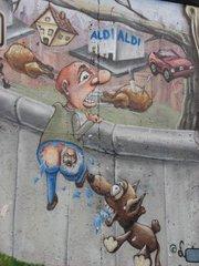 Graffiti #1 - Graffiti, Mauerbilder, Eastside-Gallery, Berlin, Mauer