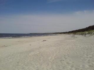 Strand - Polen, Kohlberg, Strand, Sand, Wasser, Meer, Düne, Flachküste, Küste, Ostsee
