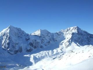 Ortlermassiv - Ortler, Südtirol, Berg, Alpen, Gipfel, Bergsteigen, Schnee, Winter, Sulden, Hauptgipfel, Bergstock, Gletscher