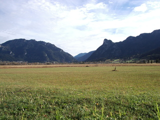 Ammertal - Alpen, Ammergauer Alpen, Oberammergau, Moorlandschaft