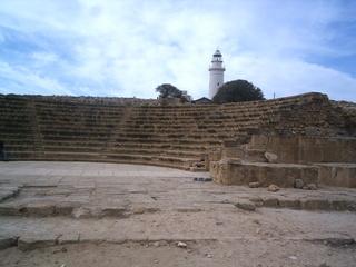 Zypern - Ruinen von Paphos - Amphitheater #3 - Zypern, Ausgrabung, Weltkulturerbe, Geschichte, Antike, Archäologie, Paphos, Ruinen, Theater, Amphitheater, Architektur, Kunst