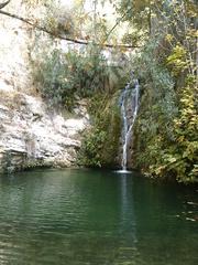 Wasserfall bei den Bädern des Adonis - Zypern, Bad, Wasserfall, Natur