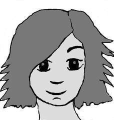 Kopf - Kopf, Haare, Augen, Lächeln, Mädchen, Gesicht, Wörter mit pf