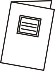 Heft - Heft, Schulheft, Schule, Schulmaterialien, schreiben, Anlaut H
