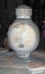 Hagia Sophia-Marmorurne - Türkei, Istanbul, Osmanisches Reich, byzantinische Baukunst, Islam, Religion, Weltreligion, Kirche, Mosaik, Geschichte, Geografie