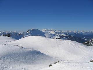 Winter in Zauchensee - Winter, Schnee, Zauchensee, Schifahren, Berge, Spuren, Schneedecke, Sport, Freizeit, Skifahren