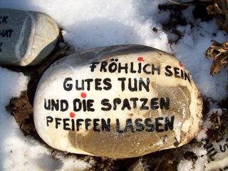 Spruch - Spruch, Stein, Leben, Philosophie, Weisheit, Menschlichkeit