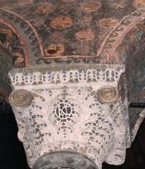 Hagia Sophia - Pfeiler - Türkei, Istanbul, Osmanisches Reich, byzantinische Baukunst, Islam, Religion, Weltreligion, Kirche, Minarett, Geschichte, Geografie