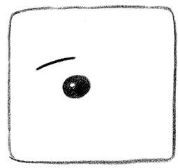 Auge  - Auge, sehen, beobachten, Piktogramm