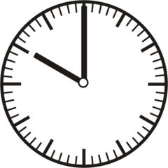 Uhrzeit 10.00   22.00 - Uhr, Uhrzeit, volle Stunde, ganze Stunde, Zeit, Zeitspanne, Zeitpunkt, Zeiger, Mechanik, Zeitskala, Zeitgeber, Analoguhr, Zifferblatt, Ziffernblatt, rechtsdrehend, Uhrzeigersinn, Minute, Kreis, Winkel, Grad, Mathematik, Größen, messen, time, clock, ermitteln, Zeitraum, Dauer, Frist, Termin, Zeitabschnitt