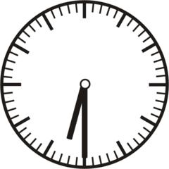 Uhrzeit 6.30    18.30 - Uhr, Uhrzeit, halb, Zeit, Zeitspanne, Zeitpunkt, Zeiger, Mechanik, Zeitskala, Zeitgeber, Analoguhr, Zifferblatt, Ziffernblatt, rechtsdrehend, Uhrzeigersinn, Minute, Stunde, Kreis, Winkel, Grad, Mathematik, Größen, messen, time, clock, ermitteln, Zeitraum, Dauer, Frist, Termin, Zeitabschnitt, half past