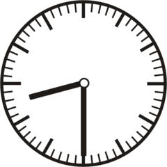 Uhrzeit 8.30    20.30 - Uhr, Uhrzeit, halb, Zeit, Zeitspanne, Zeitpunkt, Zeiger, Mechanik, Zeitskala, Zeitgeber, Analoguhr, Zifferblatt, Ziffernblatt, rechtsdrehend, Uhrzeigersinn, Minute, Stunde, Kreis, Winkel, Grad, Mathematik, Größen, messen, time, clock, ermitteln, Zeitraum, Dauer, Frist, Termin, Zeitabschnitt, half past