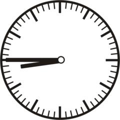 Uhrzeit 8.45    20.45 - Uhr, Uhrzeit, dreiviertel, viertel vor, Zeit, Zeitspanne, Zeitpunkt, Zeiger, Mechanik, Zeitskala, Zeitgeber, Analoguhr, Zifferblatt, Ziffernblatt, rechtsdrehend, Uhrzeigersinn, Minute, Stunde, Kreis, Winkel, Grad, Mathematik, Größen, messen, time, clock, ermitteln, Zeitraum, Dauer, Frist, Termin, Zeitabschnitt, quarter