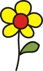 Blume gelb - Blumen, Blume, Garten, Wiese, gelb, Anlaut B
