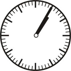 Uhrzeit  1.05     13.05 - Uhr, fünf Minuten, Uhrzeit, Zeit, Zeitspanne, Zeitpunkt, Zeiger, Mechanik, Zeitskala, Zeitgeber, Analoguhr, Zifferblatt, Ziffernblatt, rechtsdrehend, Uhrzeigersinn, Minute, Stunde, Kreis, Winkel, Grad, Mathematik, Größen, messen, time, clock, ermitteln, Zeitraum, Dauer, Frist, Termin, Zeitabschnitt, five minutes