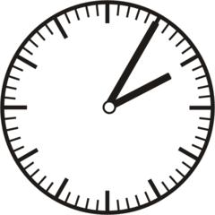 Uhrzeit 2.05   14.05 - Uhr, fünf Minuten, Uhrzeit, Zeit, Zeitspanne, Zeitpunkt, Zeiger, Mechanik, Zeitskala, Zeitgeber, Analoguhr, Zifferblatt, Ziffernblatt, rechtsdrehend, Uhrzeigersinn, Minute, Stunde, Kreis, Winkel, Grad, Mathematik, Größen, messen, time, clock, ermitteln, Zeitraum, Dauer, Frist, Termin, Zeitabschnitt, five minutes