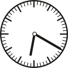 Uhrzeit  6.20   18.20 - Uhr, zehn Minuten vor, 20 Minuten nach, Uhrzeit, Zeit, Zeitspanne, Zeitpunkt, Zeiger, Mechanik, Zeitskala, Zeitgeber, Analoguhr, Zifferblatt, Ziffernblatt, rechtsdrehend, Uhrzeigersinn, Minute, Stunde, Kreis, Winkel, Grad, Mathematik, Größen, messen, time, clock, ermitteln, Zeitraum, Dauer, Frist, Termin, Zeitabschnitt, twenty