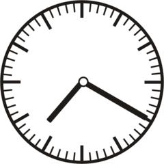Uhrzeit  7.20  19.20 - Uhr, zehn Minuten vor, 20 Minuten nach, Uhrzeit, Zeit, Zeitspanne, Zeitpunkt, Zeiger, Mechanik, Zeitskala, Zeitgeber, Analoguhr, Zifferblatt, Ziffernblatt, rechtsdrehend, Uhrzeigersinn, Minute, Stunde, Kreis, Winkel, Grad, Mathematik, Größen, messen, time, clock, ermitteln, Zeitraum, Dauer, Frist, Termin, Zeitabschnitt, twenty