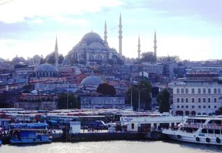Süleymaniye-Moschee - Gebäude, Moschee, Türkei, Istanbul, Osmanisches Reich, Süleymaniye Camii, Religion, Weltreligion, Sakralbauten