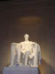 Lincoln Memorial - Abraham Lincoln, Präsident, USA, Amerika, Statue, Washington