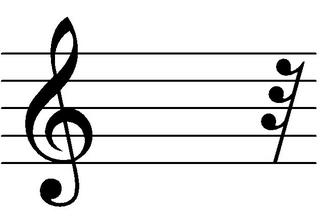 Zweiunddreißigstelpause - Noten, Notation, Pausenzeichen