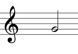Halbe Note - Minima - Note, Notation, Notenwert