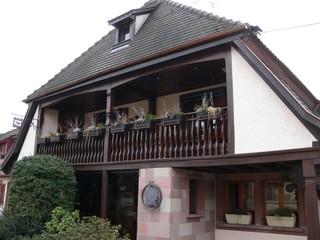 Haus der Friederike Elisabeth Brion - Goethe, Klassik, Sturm und Drang, Friederike Brion, Elsass, Literatur, Sesenheim, Haus, Architektur