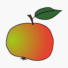 Apfel - Anlaut A, Nahrung, Obst, Apfel, Kernobstgewächs, Rosengewächs, Wörter mit pf