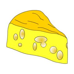 Käse - Käse, Anlaut K, Milchprodukt, Kreisausschnitt, Kreis, Winkel, Kreissektor